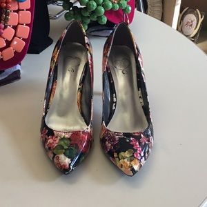 Floral heels 143 Girls